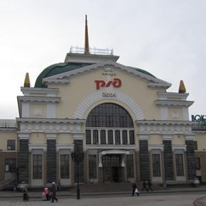 Железнодорожные вокзалы Козульки