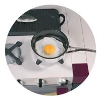 Заповедное, кафе - иконка «кухня» в Козульке